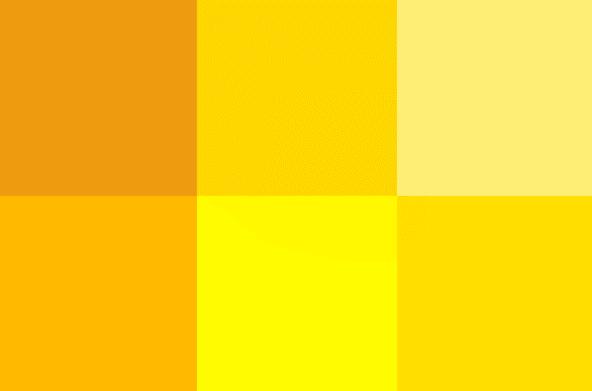 jenis warna kuning