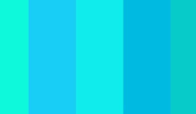 jenis warna biru