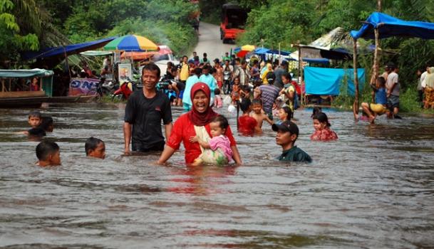 Cara mengurangi dampak banjir