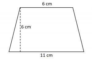 Contoh Soal Luas Trapesium 1