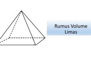 Rumus Volume Limas