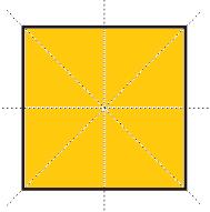 Sumbu simetri pada persegi