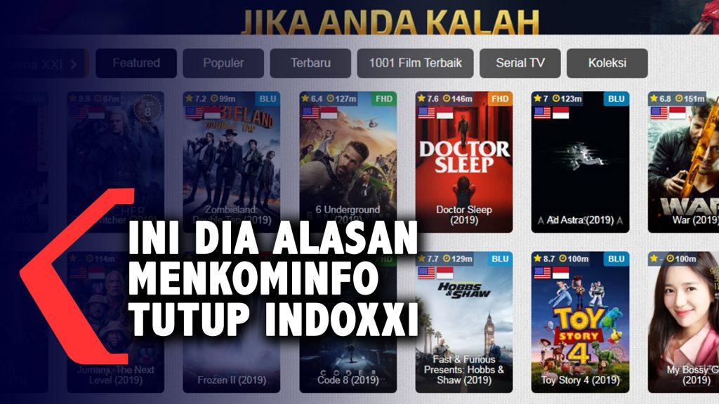 Alasan Kominfo Blokir Situs Film