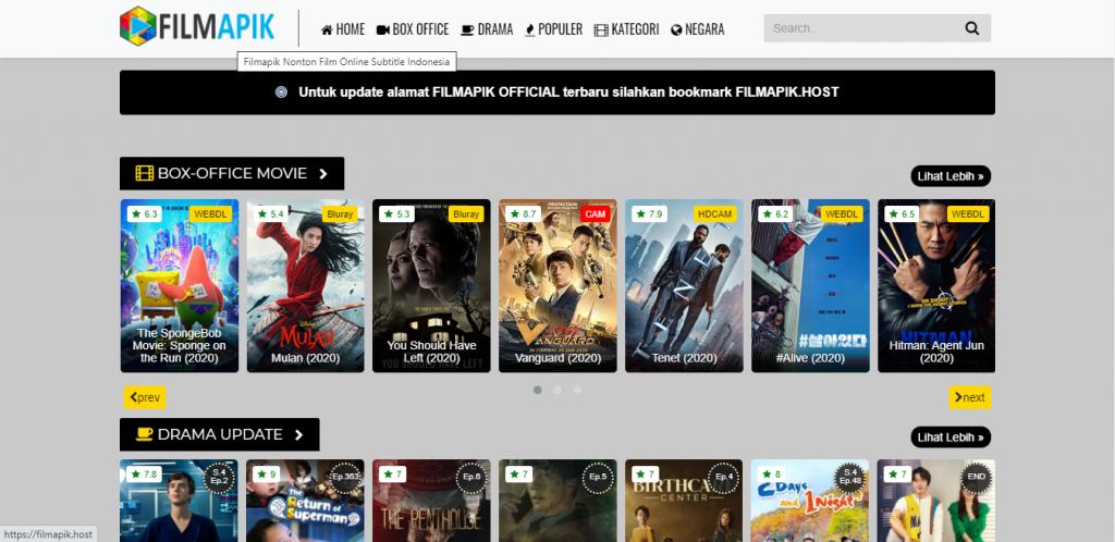Situs Nonton Film Online FilmApik
