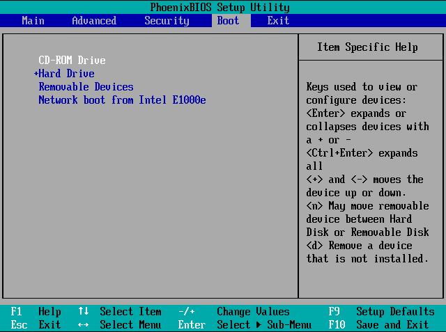 Langkah 3 Setting BIOS Install Windows 8