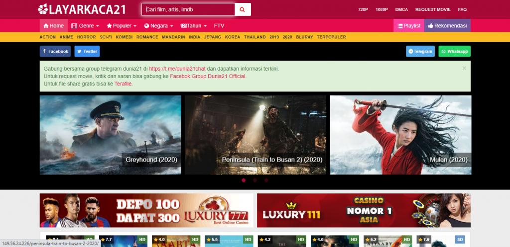 Situs Nonton Film Online Layarkaca21