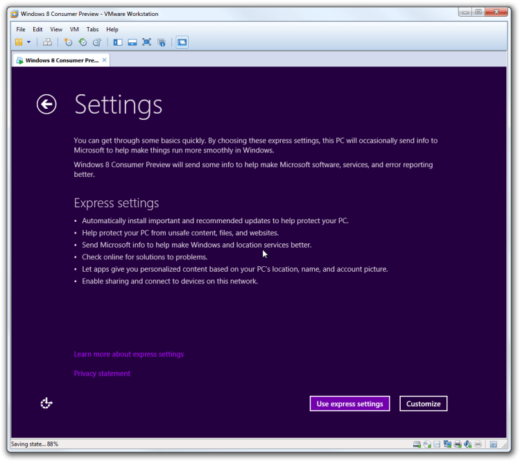Langkah 2 Mengatur Desktop Windows