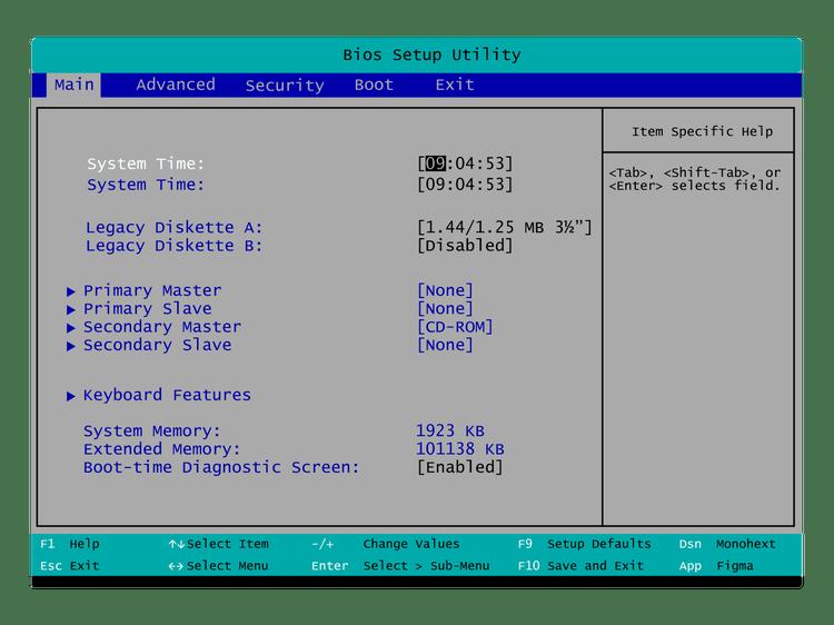 Setting Bios Install Windows 8