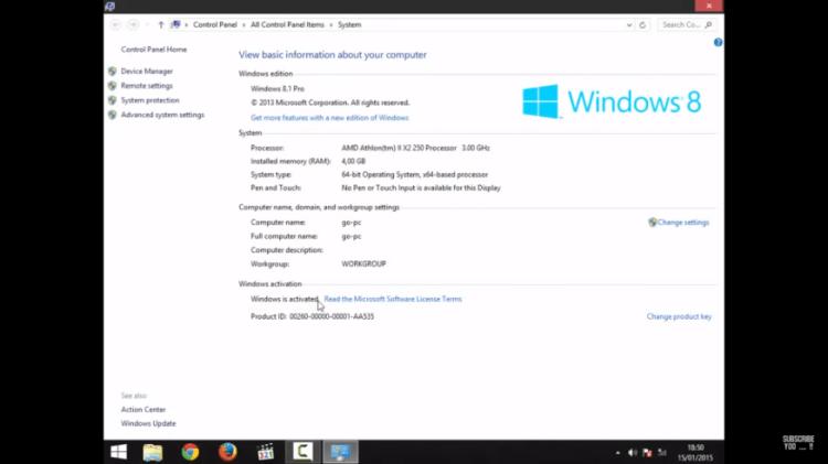 Ceka Hasil Aktivasi Windows 8