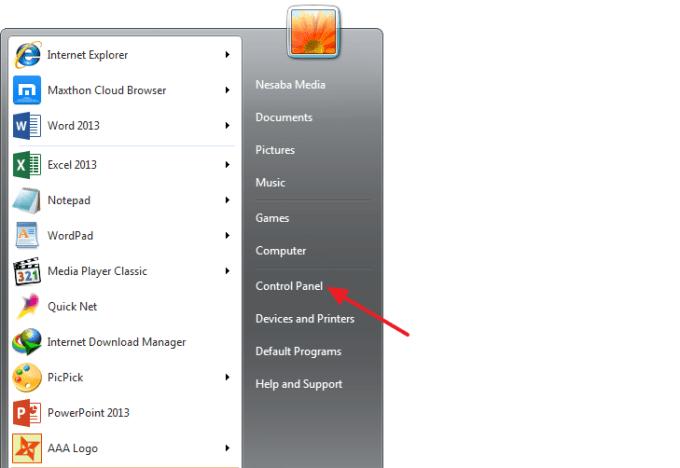 Langkah 1 Cara Mematikan Update Windows 7