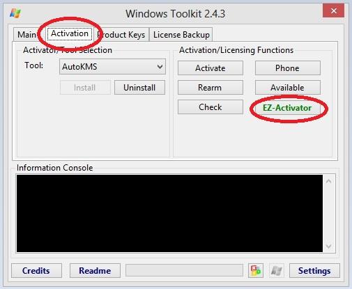 Langkah 3 Aktivasi Windows 8 Dengan Microsoft Toolkit