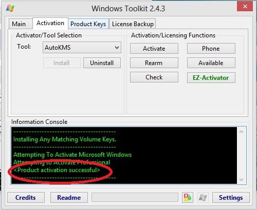 Langkah 4 Aktivasi Windows 8 Dengan Microsoft Toolkit