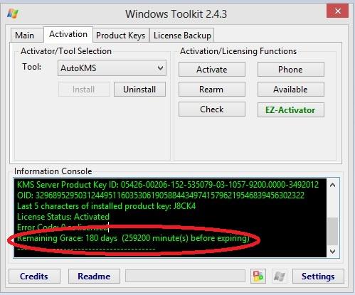 Langkah 5 Aktivasi Windows 8 Dengan Microsoft Toolkit