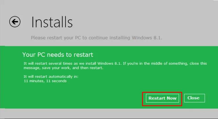 Install Pembaruan Windows 8.1