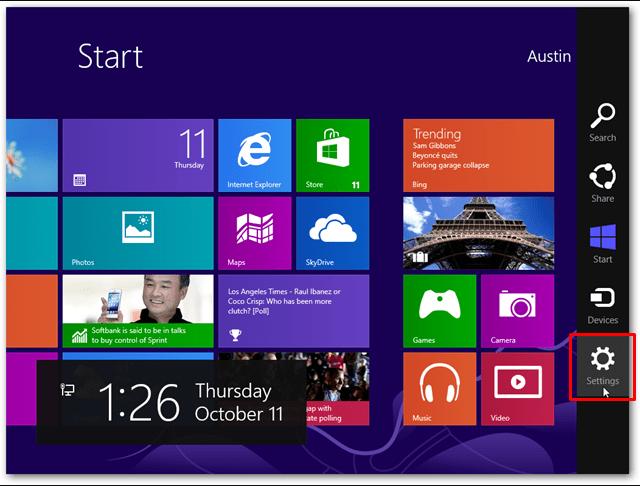 Cara Update Windows 8