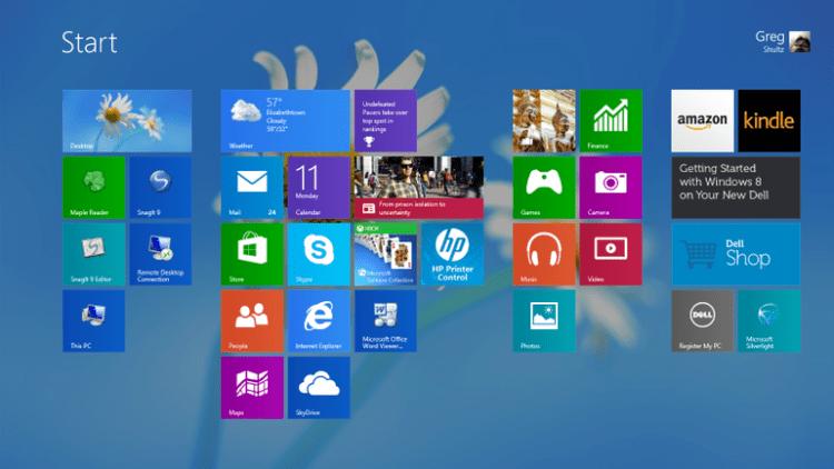 Update Windows 8 ke Windows 8.1 berhasil