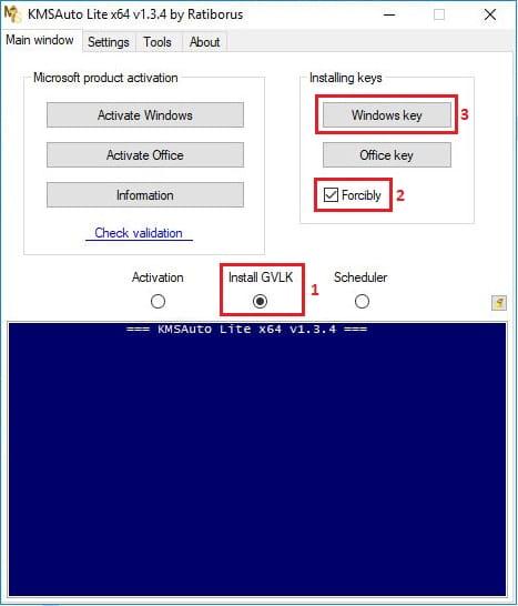 Cara Aktivasi Windows 10 Dengan KMSAtuto Lite 2