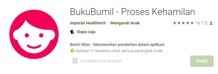 Aplikasi BukuBumil
