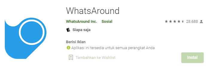 Aplikasi WhatsAround