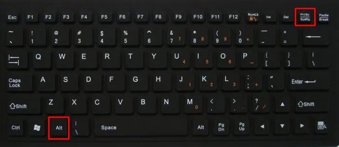 Cara Screenshot di Laptop dengan Keyboard