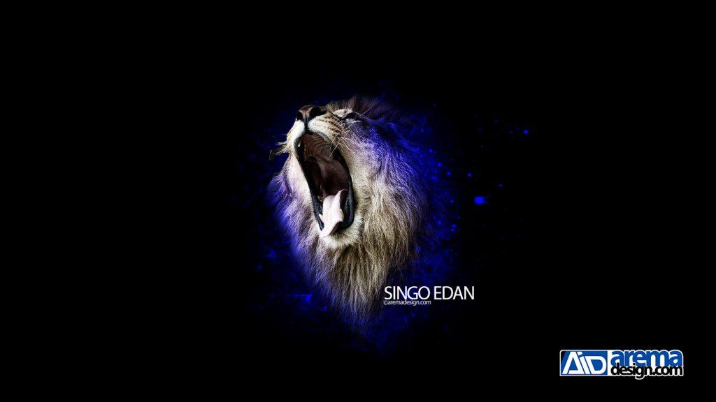 Gambar Singa Arema Keren