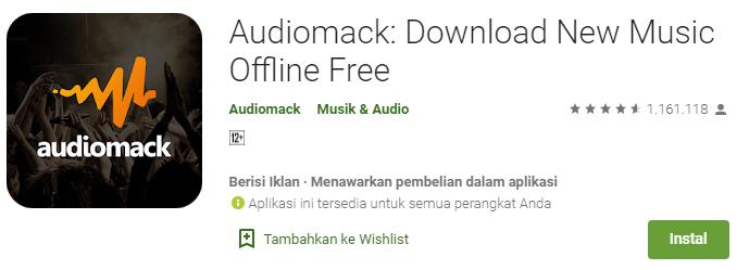 Aplikasi Audiomack