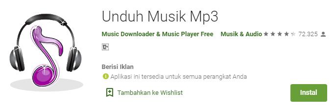 Aplikasi Download Mp3 Music