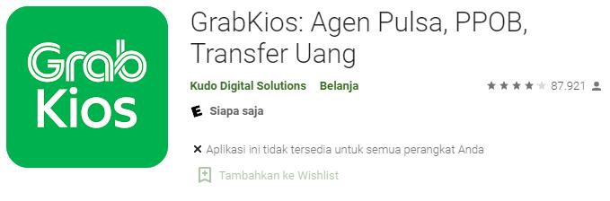 Aplikasi Grab Kios