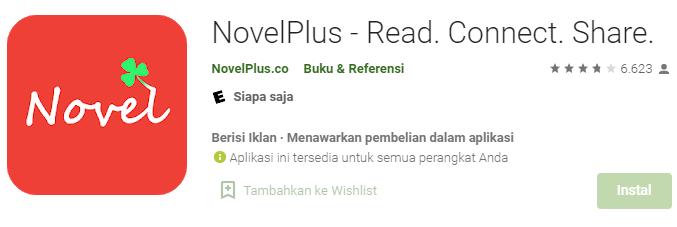Aplikasi NovelPlus