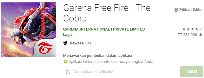 Aplikasi Penghasil Uang Free Fire