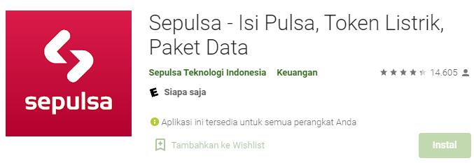 Aplikasi Sepulsa