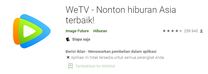 Aplikasi We TV
