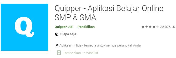 Aplikasi Quipper