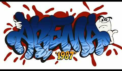 Grafiti Arema Singo Edan